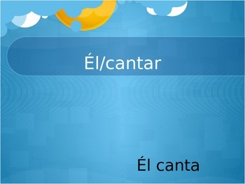 Spanish - AR verbs - Around the World