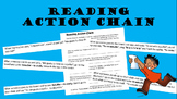 Spanish -AR verbs READING ACTION CHAIN Fun Review!