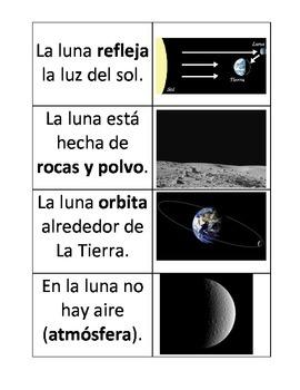 Spanish: The Moon (La luna), Vocabulary Development