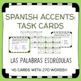 Spanish Accent Mark Task Cards - Las Palabras Esdrújulas