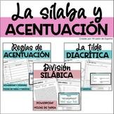 Spanish Accents/Acentuación/Acentos/Reglas de acentuación/Bundle