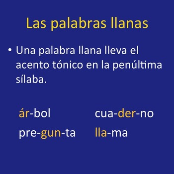Spanish Accents Lesson Plans and Curriculum