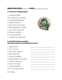 Spanish Accents Review: Find the Mistakes Worksheet (20 Questions)