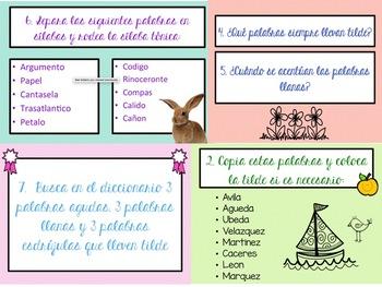 Spanish Accents Rules - Reglas de Acentuación en Español ...  |Spanish Accents Rules