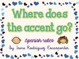 Spanish Accents Rules - Reglas de Acentuación en Español