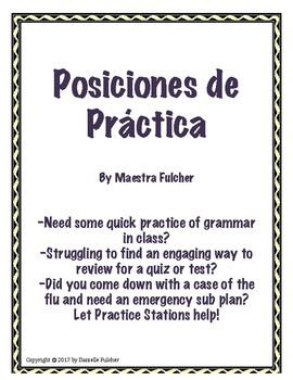 Spanish Accents Station Practice