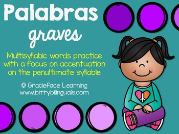 Spanish Accentuation – Palabras graves
