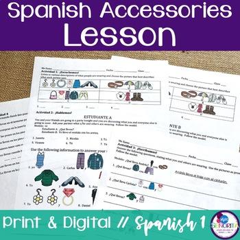 Spanish Accessories Lesson