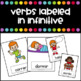 Action Verbs in Spanish Flashcards - Verbos