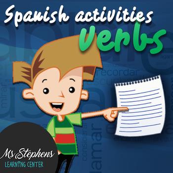Spanish Activities -AR Verbs (Present Tense)
