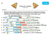 Spanish Activities - Bellwork TC78B Keynote
