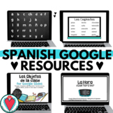 Spanish Activities for Google Slides + PowerPoint - Spanis