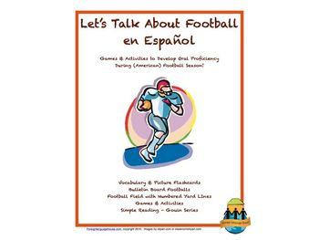 Spanish Activities to Talk About American Football