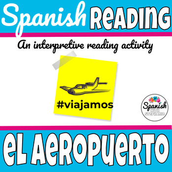 Spanish: Airport reading and picture walk activity