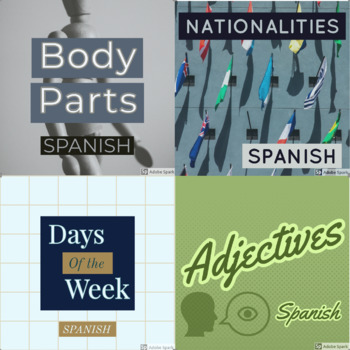 Spanish Activity Bundle
