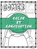 Spanish Verb Conjugation Worksheet   COMER