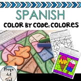 Spanish Activity Vocabulary and Colors