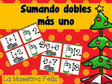Spanish Speaking : Math : Adding doubles plus one /Sumando dobles matematicas.