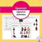 Spanish Adjective Activities