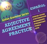 Spanish Adjective Agreement - Active Grammar Series
