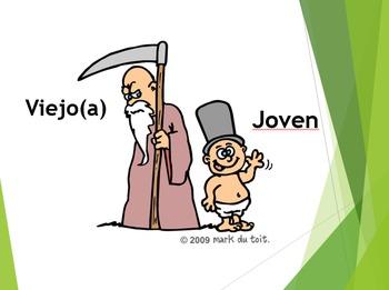 Spanish Adjective Bundle