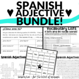 Spanish Adjectives - Bundle of Spanish Games and Activitie