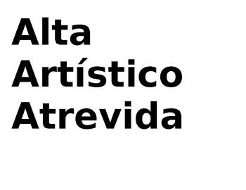 Spanish Adjective Masculine/Femenine Activity