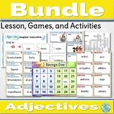 Spanish Adjectives Activities Bundle Describing People