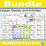 Spanish Adjectives Activities Bundle Describing People