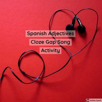 Adjectives Cloze Worksheets & Teaching Resources | TpT