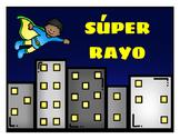 Spanish Adjectives Story - Súper Rayo