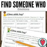 Spanish Adjectives Emotions - Spanish Speaking Activity