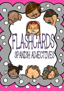Spanish Adjectives- Flashcards