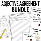 Spanish Adjectives and Nouns Agreement Bundle