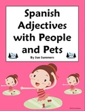 Spanish Adjectives People and Pets Worksheet #2