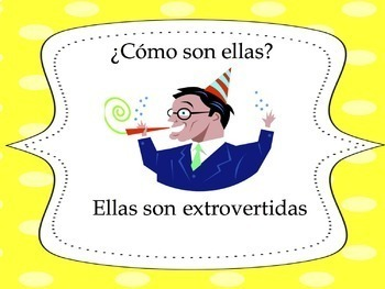 Spanish Adjectives Powerpoint 2 - all forms