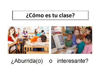 Spanish Adjectives Powerpoint Presentation
