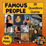 Famous Hispanics Game and Hispanic Heritage Research Project