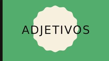 Spanish Adjectives Speaking Practice