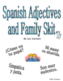 Spanish Adjectives and Family Skit - Friend Interviewing Friend - Role Play