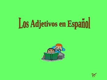 Spanish Adjectives and Grammar