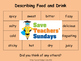 Spanish Adjectives (for food) Lesson plan, PowerPoint (with audio) and More ...