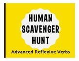 Spanish Advanced Reflexive Verb Human Scavenger Hunt