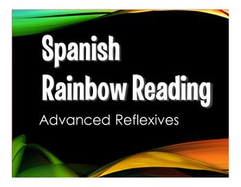 Spanish Advanced Reflexive Verb Stations