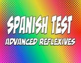 Spanish Advanced Reflexive Verb Test