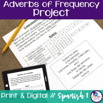 Spanish Adverbs of Frequency Project