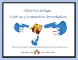 Spanish Adverbs of Place, Demonstrative Adjectives and Pronouns