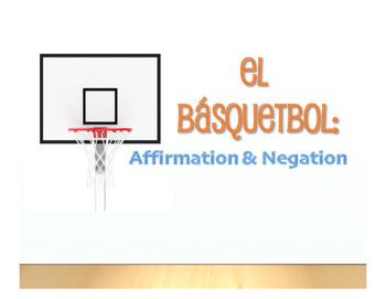 Spanish Affirmation and Negation Basketball