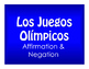 Best Sellers:  Spanish Affirmation and Negation