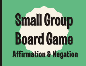 Spanish Affirmation and Negation Board Game